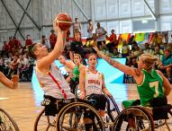 La selección femenina española, a semifinales en el Mundial de baloncesto en silla