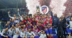 El Atlético de Madrid, supercampeón de Europa