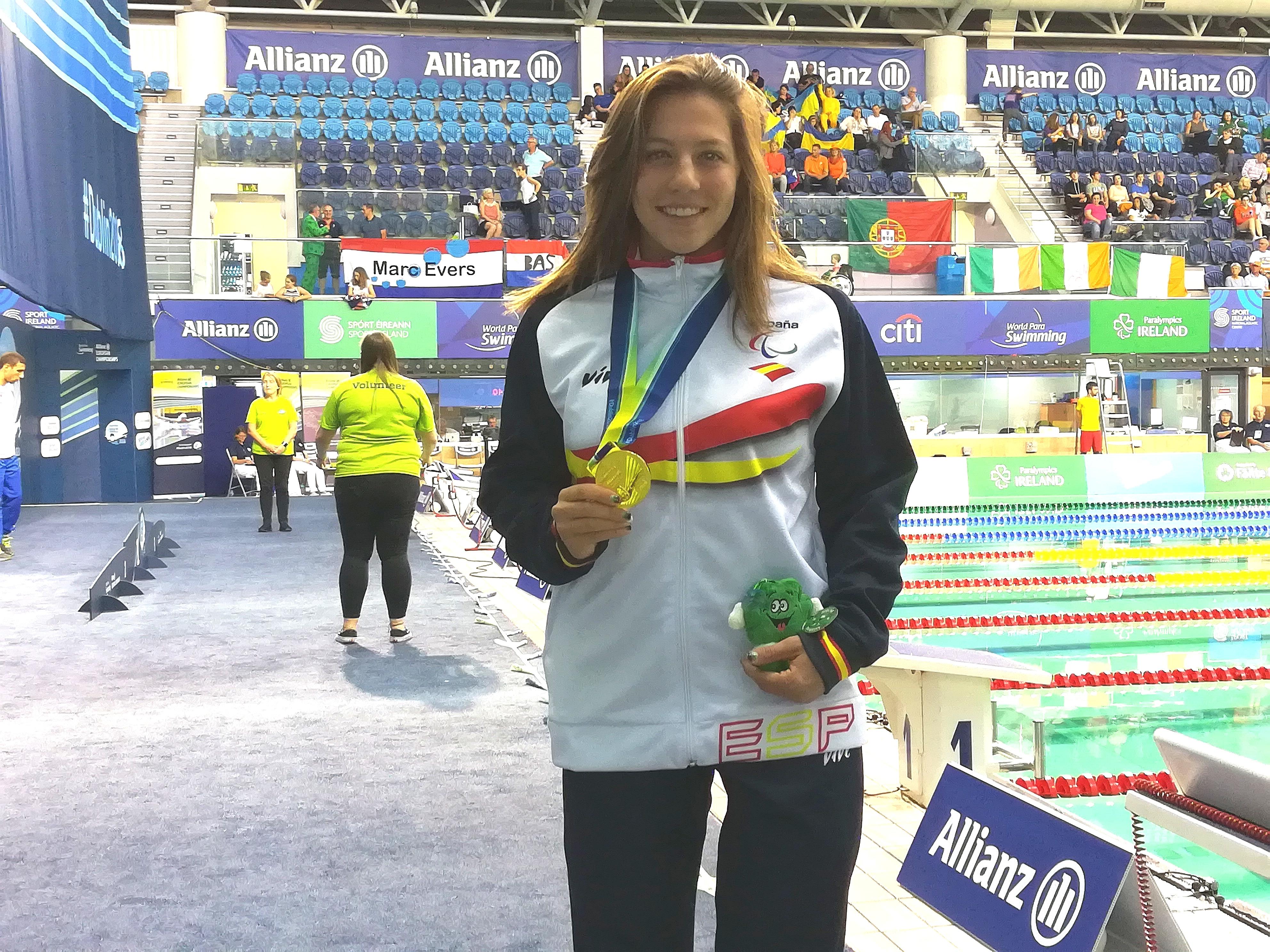 Nuria Marqués conquista el oro en Dublín Fuente: CPE