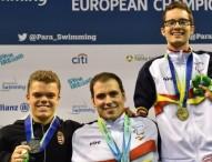 Triplete de oros para un equipo español que ya suma 16 medallas en el Europeo de Natación Paralímpica