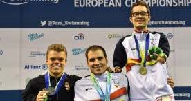 España suma 23 medallas en el europeo de natación paralímpica