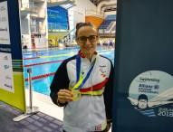 6 metales para España en el europeo de natación paralímpica
