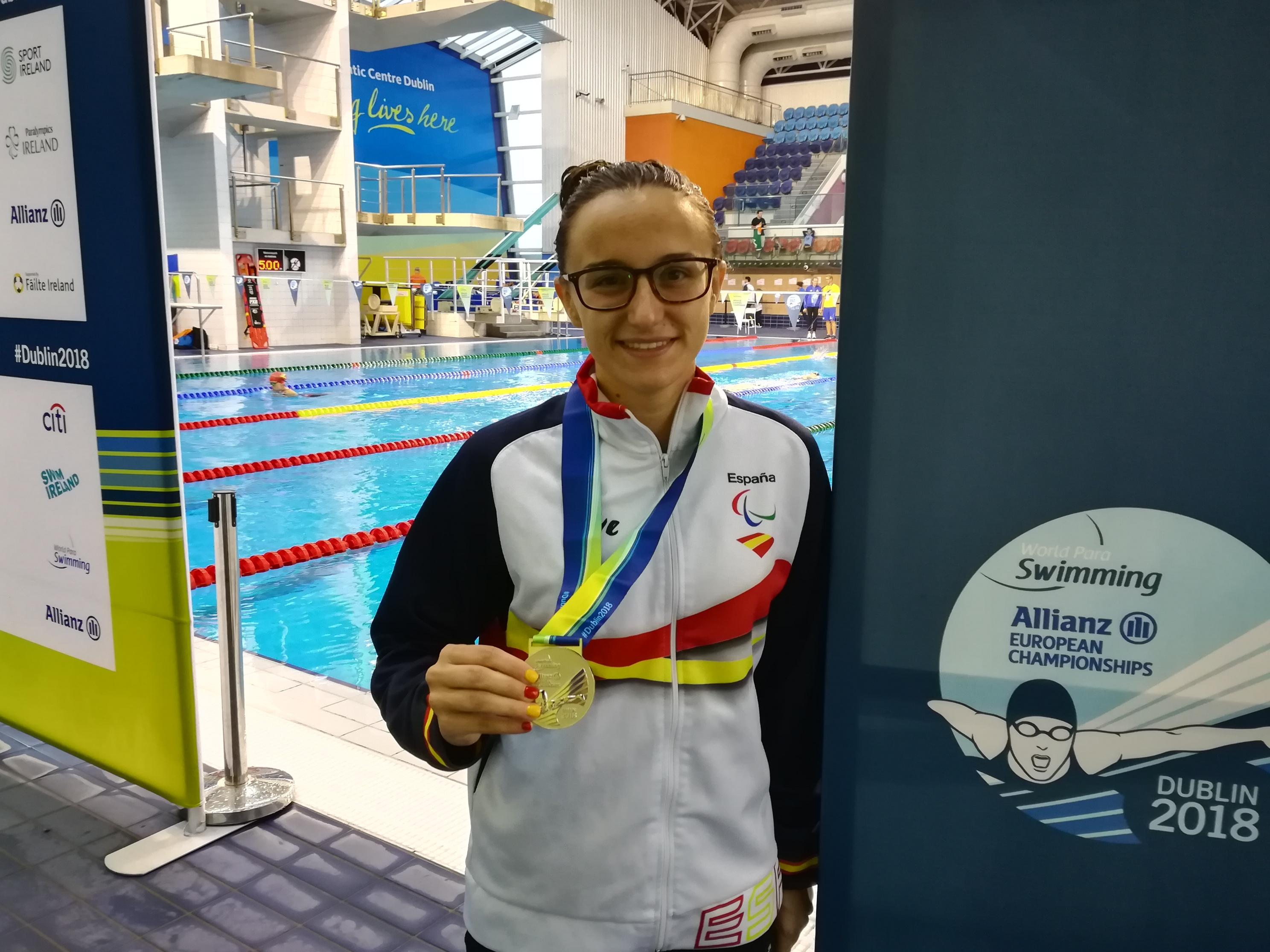 Campeonato de Europa de natación parlímpica. Fuente: CPE