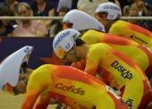 España, fuera de la persecución por equipos en el Mundial de ciclismo