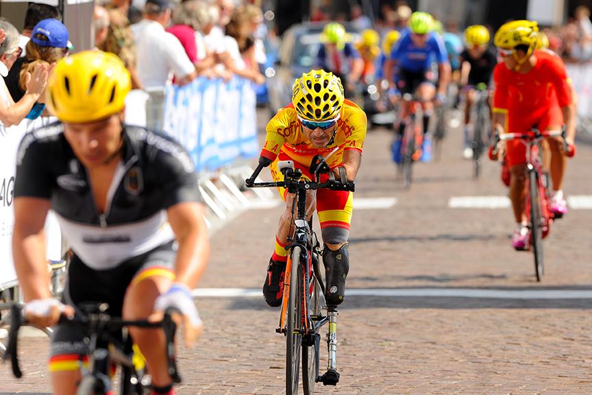 El equipo español de Ciclismo en Adaptado. Fuente: rfec