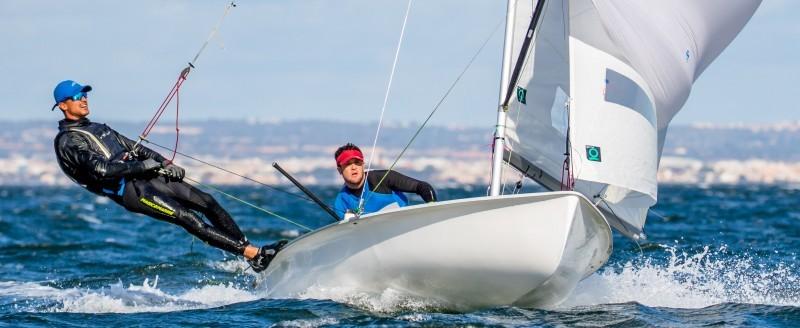 Gabriel Utrera y José Manuel Ruiz. Fuente: Málaga Sailing