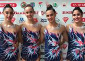 El conjunto español de rítmica, 6º en Minsk