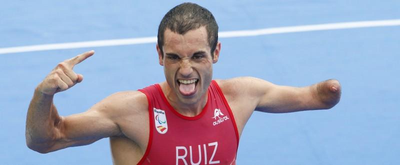 Jairo Ruiz en Río 2016 (Fuente: paralimpicos.es)