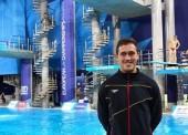Nico Garcia Boissier, noveno en en la final de trampolín de 1 metro del europeo de Glasgow