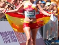 July Takacs, medalla de bronce en 50km marcha en Berlín