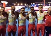 El equipo masculino de gimnasia artística termina en sexto lugar el Campeonato de Europa