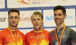 Alfonso Cabello, bronce en el kilómetro del Campeonato de España en Pista 2018