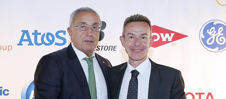"""Alejandro Blanco y Pere Miró en la conferencia sobre la """"Agenda Olímpica 2020-Nueva Norma"""""""