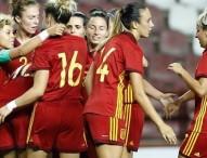 España se clasifica para el mundial absoluto de fútbol femenino con pleno de victorias