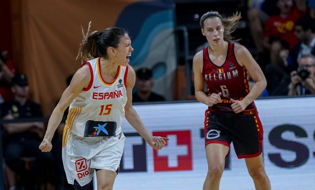 España-Bélgica, lucha por el bronce mundial de Tenerife. Fuente: FEB