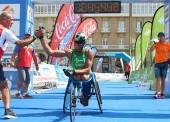Quintero, campeón de España de triatlón