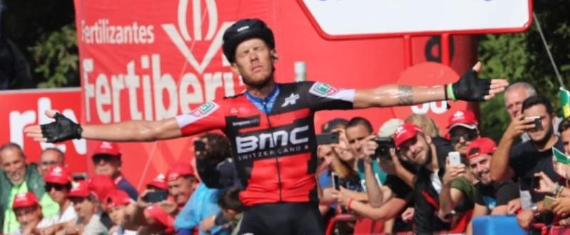 De Marchi, ganador de la undécima etapa de La Vuelta '18 (Fuente: ©Photogomez Sport)