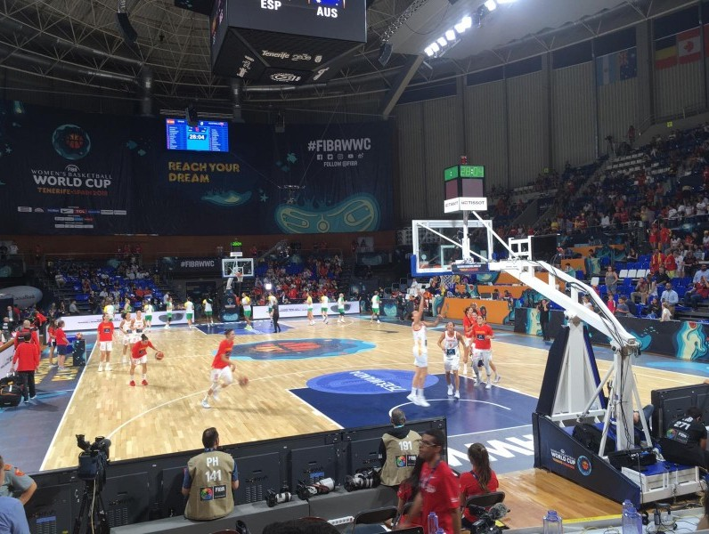 España vs Australia, semifinales Mundial de Tenerife 2018. Fuente: Avance Deportivo