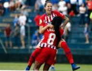 El Málaga CFF debuta en la Liga iberdrola siendo goleado por el Atlético