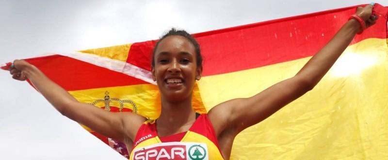 María Vicente despierta sensaciones en el mundo del atletismo.