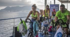 "Cycling Onboard: ""La magia de pedalear en el mar"""