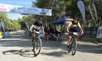 Pablo Guerrero y Agnieta Francke, vencedores de la IV Bokerón Bike, Ciudad de Málaga