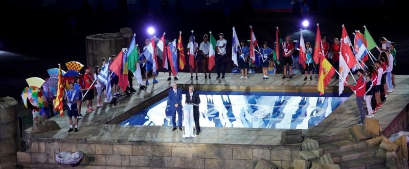 Ceremonia de clausura de los Juegos Mediterráneos 2018