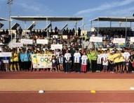 Un centenar de alumnos andaluces de primaria participan en la 'Olimpiada Escolar 2018'