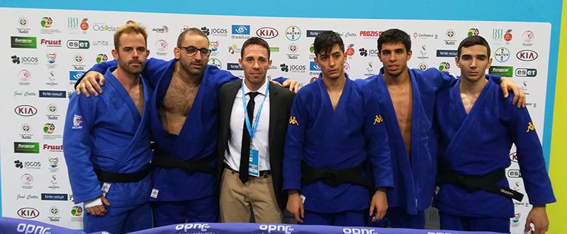 Equipo español de judo paralímpico. Fuente: CPE