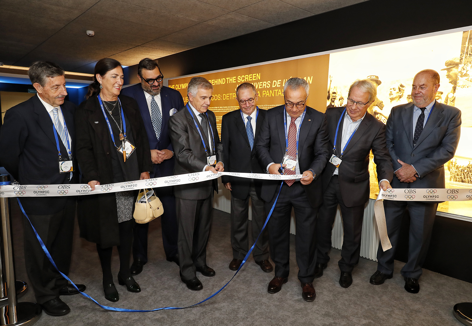 Inauguración de la exposición. Fuente: COE