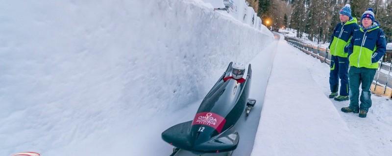 Israel Blanco en St. Moritz. Fuente: AD
