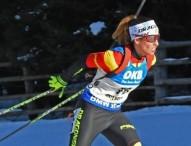 El extravío del equipo de Victoria Padial merma sus resultados en Bielorusia