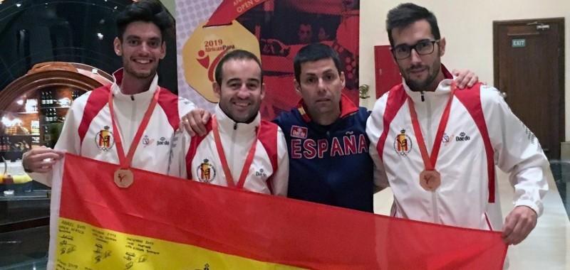 Españoles en el Open Africano de Taekwondo paralímpico. Fuente: CPE