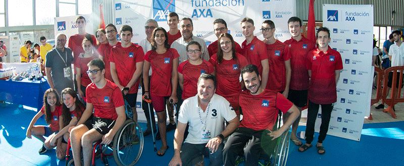 Campeonato Español de Natación Promesas Paralímpicas. Fuente: CPE