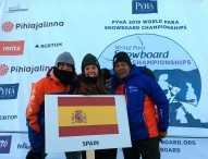 Astrid Fina, bronce mundial en Finlandia