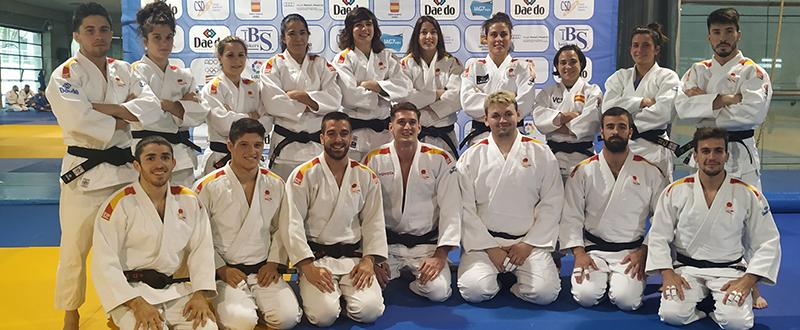 Equipo español de judo. Fuente: Avance Deportivo/MC