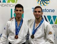 Plata de Sergio Ibáñez y bronce de Álvaro Gavilán en Fort Wayne