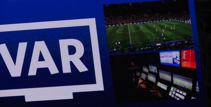 _Pie de foto_ Sala de control del VAR en el Mundial 2018