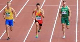 Retamal rompe marca en los 200 metros y se coloca en puesto históric