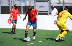 España, a semifinales del Europeo de Fútbol para Ciegos