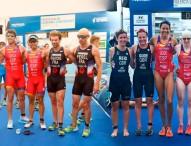 3 oros continentales para el triatlón español paralímpico en Valencia