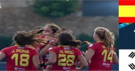 Las Redsticks más cerca de Tokio 2020 tras su debut triunfal ante Korea