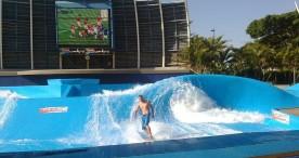 Olas artificiales: el as en la manga del futuro del surf olímpico