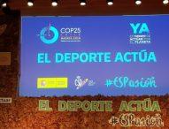 'El Deporte Actúa', en defensa del medio ambiente