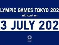 Los Juegos de Tokio serán el 23 de julio al 5 de septiembre de 2021
