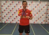 Doblete dorado de José Manuel Ruiz en el Open de Chile de tenis de mesa adaptado
