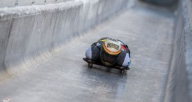Ander Mirambell da el pistoletazo de salida a su 12ª temporada en la Copa del Mundo de Skeleton