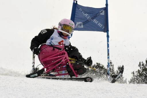 Andrés Gómez, esquí alpino. Fuente: RFEDI