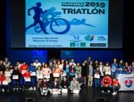 Celebradas las galas de la temporada 2018/2019 de atletismo y triatlón en la provincia de Málaga