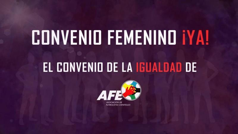 Convenio Colectivo de las futbolistas de Primera División Femenina. Fuente: AFE.